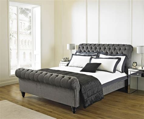 headboard and footboard furniture captivating upholstered