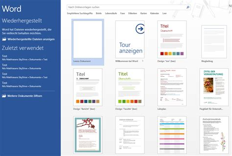 Microsoft Word Design Vorlagen microsoft office 2013 die neuen funktionen in word