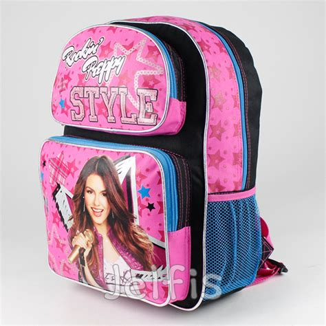Original Thistime Brand 01 justice backpack rockin 16 quot large