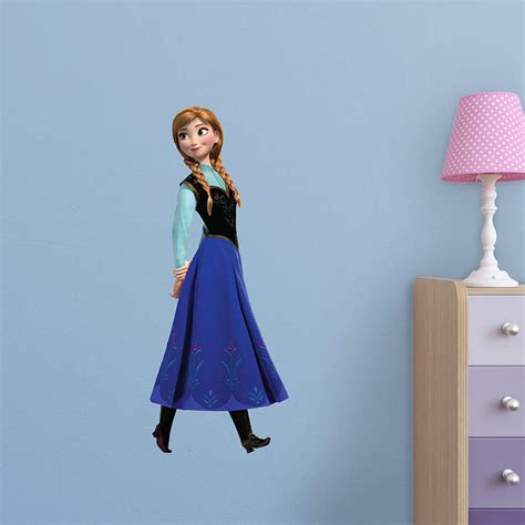 Life Size Athlete Wall Stickers anna fathead jr wall decal shop fathead 174 for disney