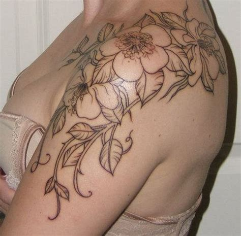 simple vine tattoo 67 cool vine shoulder tattoos