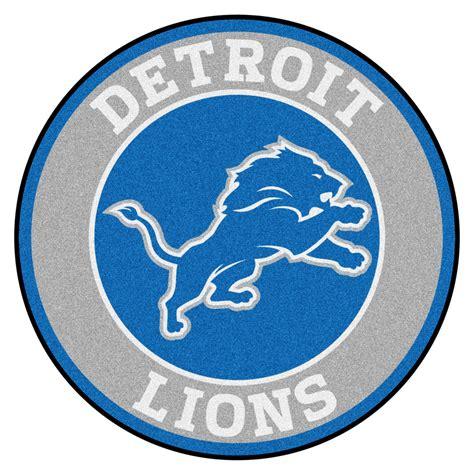 lions home detroit lions roundel area rug 27 quot