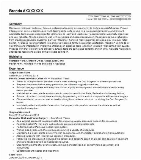 dental hygienist resume objectives resume sle livecareer