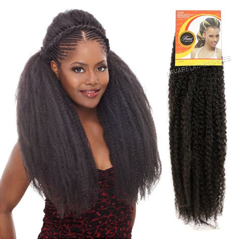 marley hair weave femi collection kinky twist braid kanekalon synthetic