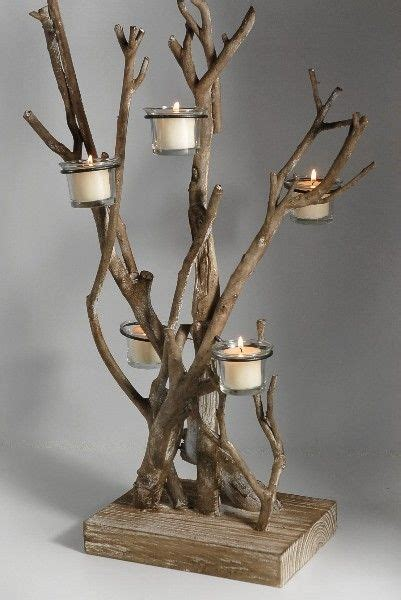 how do tea lights burn 25 best ideas about log candle holders on
