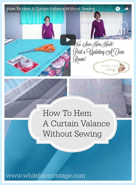 how to hem curtains with a sewing machine how to hem curtains without sewing white lace cottage
