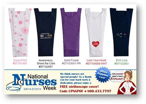 Nurses Week Giveaways - may 2014 danlee medical products cardiology equipment supplies