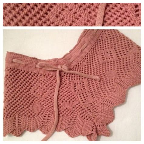 imagenes de short tejido a ganchillo short crochet paso a paso imagui tejidos pinterest