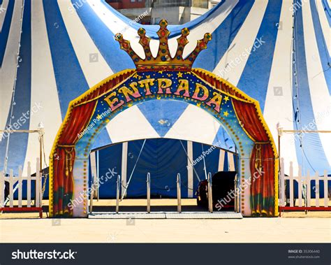 circus layout definition entrance of a circus stock photo 35306440 shutterstock