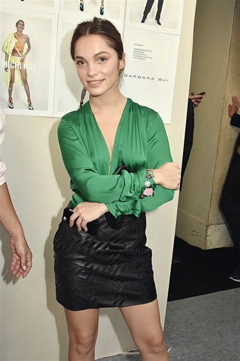 Lola Le Lann attends the Barbara Bui show   Leather