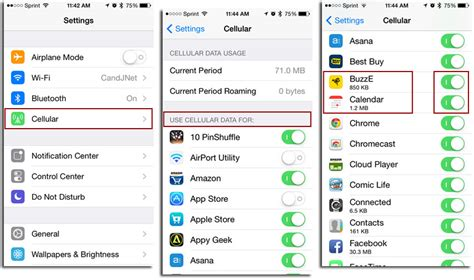 How To Find On App How To Find Out How Much Cellular Data Your Apps Are Using Mactrast