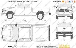 the blueprints vector drawing dodge ram 1500