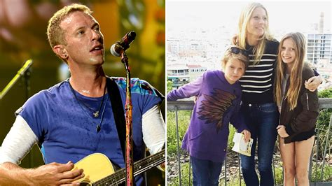 apple martin and chris martin chris martin s kids apple and moses steal spotlight from