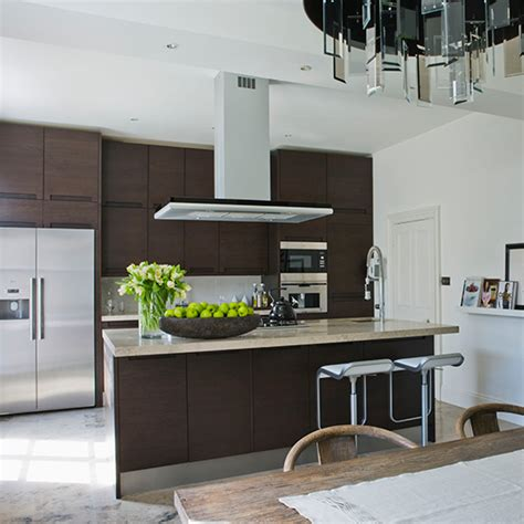 cream and black kitchen ideas smart home kitchen smart kitchen cabinets that take centre stage ideal home