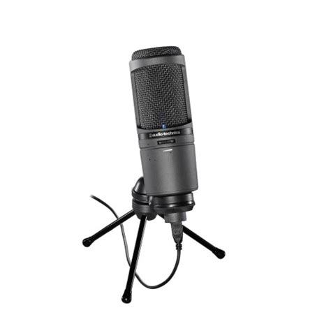 condenser microphone history audio technica at2020i cardioid condenser usb microphone
