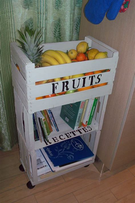 cassette della frutta riciclo creativo cassette della frutta in stile shabby