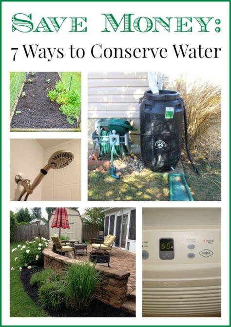 7 Ways To Conserve Water by 7 Ways To Conserve Water And Save Money