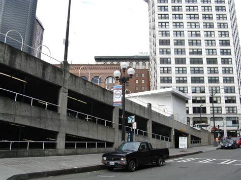 Pioneer Square Garage by Sinking Ship Parking Garage Pioneer Square Seattle