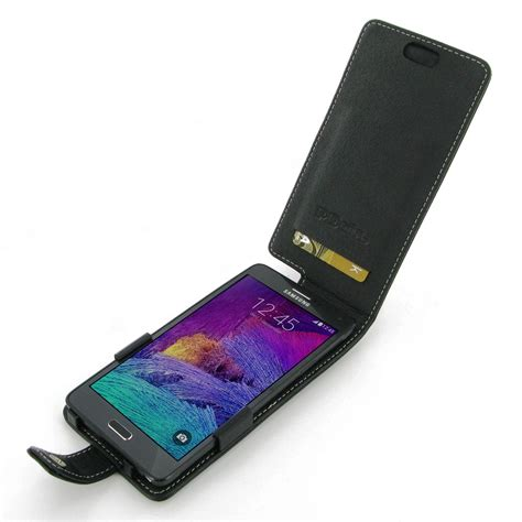 Flipcase Samsung Galaxy Note 4 samsung galaxy note 4 leather flip cover pdair sleeve pouch