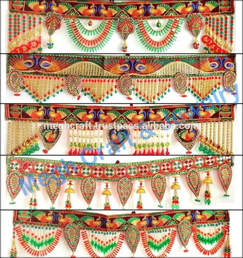 Handmade Diwali Decoration - wholesale beaded work wall hanging diwali special