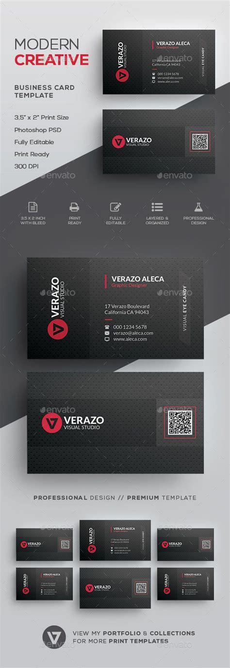 qr code business card template psd top 25 ideas about business card templates on