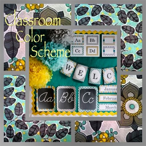 wordbrain themes colors level 5 yellow turquoise and gray classroom color scheme teach