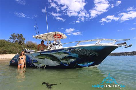 boat wraps for fishing boats wrap gallery marine graphics ink