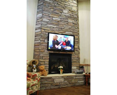 Fireplace Cladding by Stacked Cladding Fireplace Design From Craft
