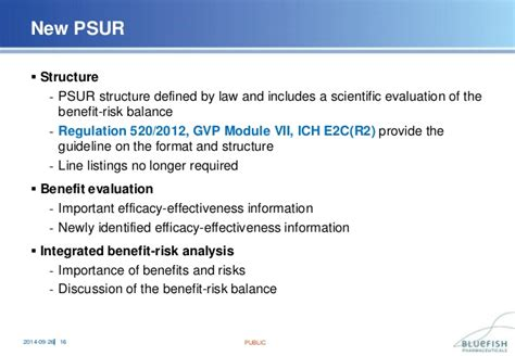 Periodic Safety Update Report Template General Principles Of Periodic Safety Update Reports Psur
