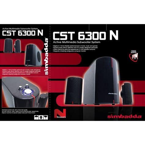 Speaker Simbadda Cst 6300n harga jual speaker simbadda cst 6300n
