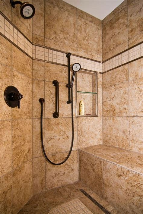walk in shower designs with bench the walk in shower is accessible design at its best with