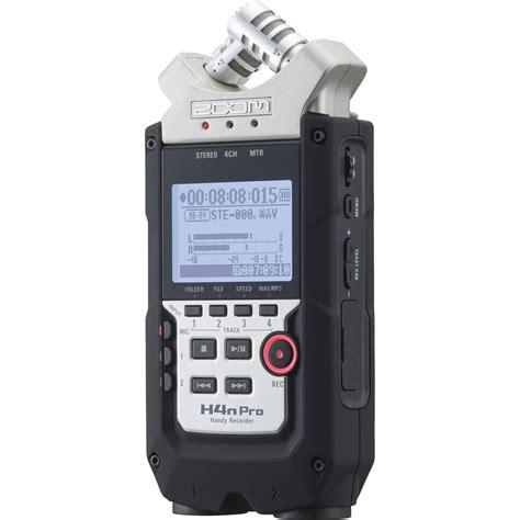best handy recorder zoom h4n pro 4 channel handy recorder zh4npro b h photo