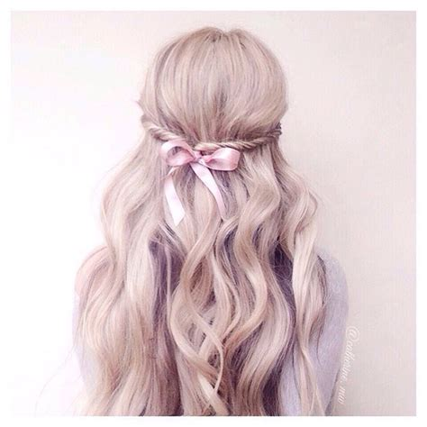 Bow Hairstyles by Bow Hairstyle Half Up Twist Hair Hair And