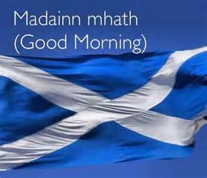 Gaelic Bathroom Signs Madainn Mhath Means Morning In Scottish Gaelic Sam