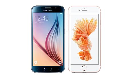 iphone v samsung apple iphone 6s vs samsung galaxy s6 which is best