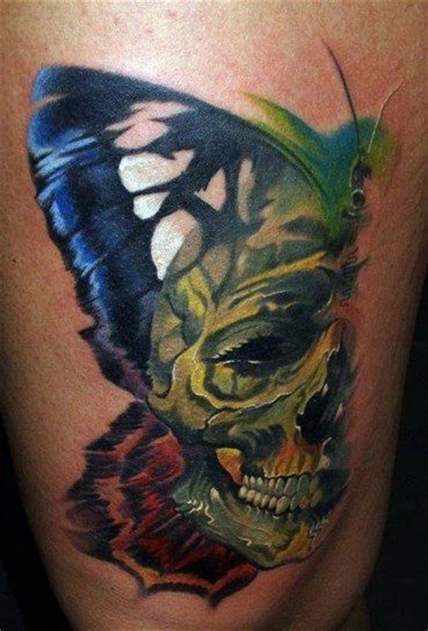 12 watercolor skull tattoo designs pretty designs