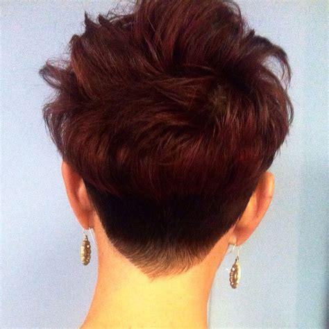 undercut bob hairstyles back view 1000 ideas about pixie back view on pinterest pixie cut
