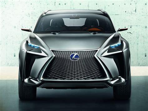 lexus lf nx concept front spindle grille design car body design