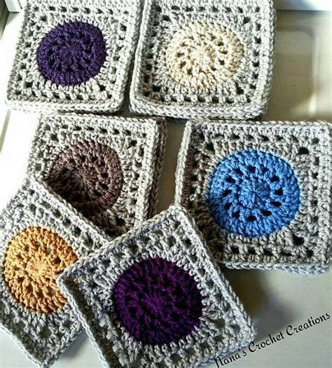 granny square pattern magic ring this 7 quot granny square does a little magic knit and