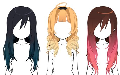 Kisekae Hair favourites by ClaireJacksonIsDead on DeviantArt