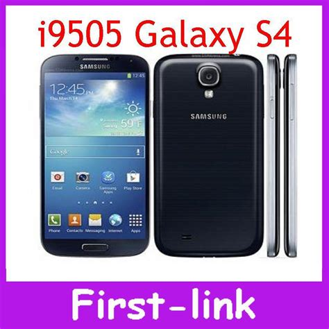Free Miss Sixty Perfume With Samsung Mobile Phone by Samsung Galaxy S4 I9505 I9500 Unlocked Original Cell