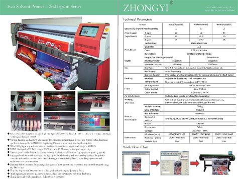 Printer Epson Eco Solvent epson dx5 eco solvent printer w 1800 zy china manufacturer products
