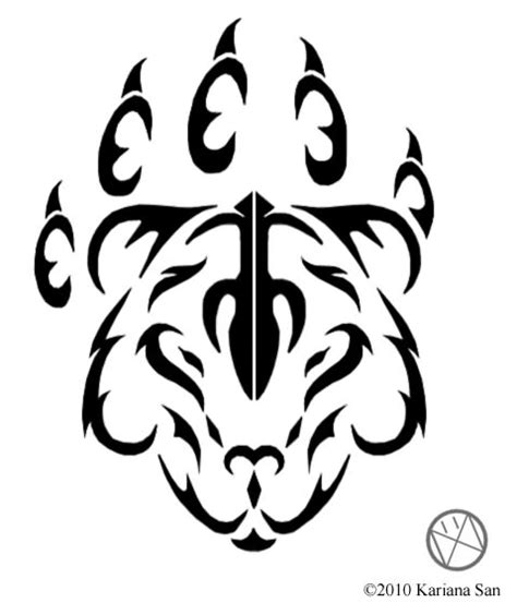 bear paw tribal tattoo world ideas 25 gorgeous symbol tattoos