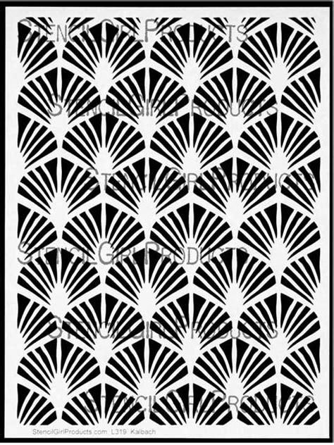 art pattern stencils art deco paris stencil nathalie kalbach stencilgirl