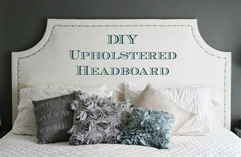 how to make an upholstered headboard with nailheads diy upholstered headboard step by step tutorial on how