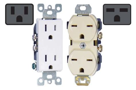 duplex receptacles 120v 240v 15 sunlight supply