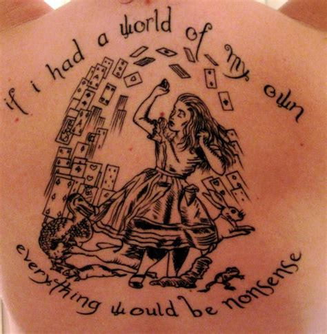 alice in wonderland quote tattoos the great gatsby veni vidi vici