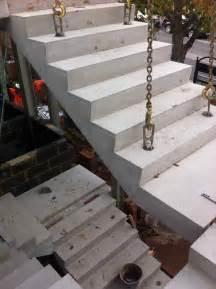 treppen aus beton concrete stairs 166 precast stair units 166 concrete landing slab