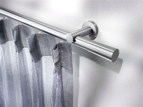 curtain rods modern design contemporary style aluminium curtain rod antilia aluminium