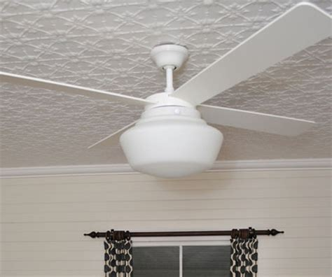 schoolhouse ceiling fan from spinifex architecture design